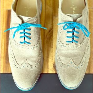 Cole Haan Alisa Oxford -Maple, Blue